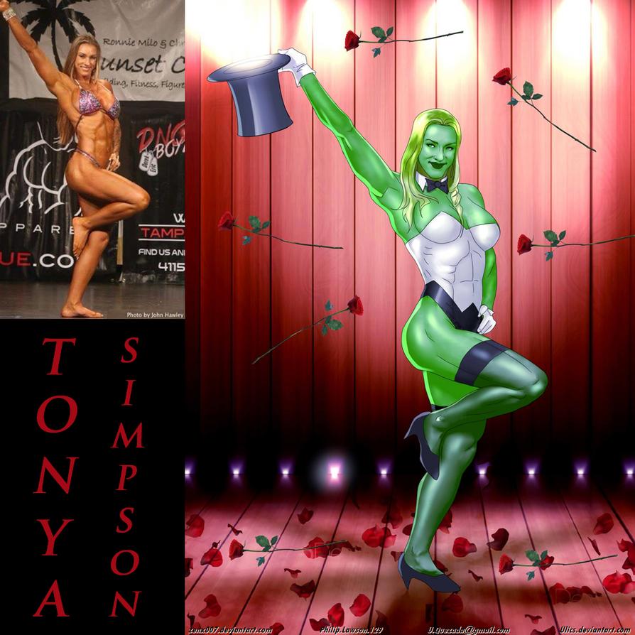 She-Hulk Zatanna Tanya Simpson By Ulics by zenx007