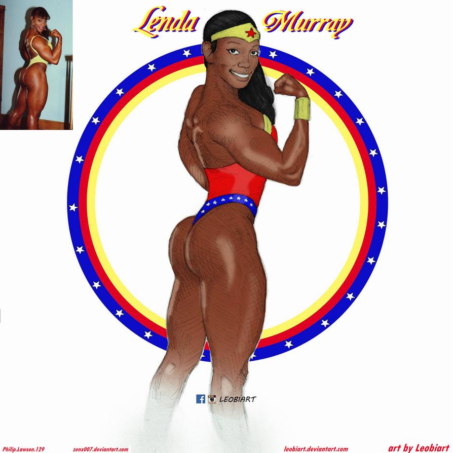 Ms. Olympia Wonder Woman Lenda Murray By leobiart by ...