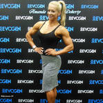 Amanda Doherty And Evogen At The 2016 Arnold