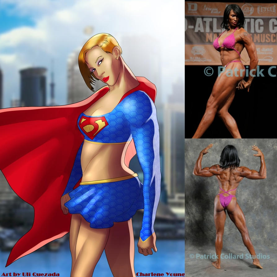 Congratulations SUPERGIRL Charlene Young by zenx007