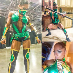 Ariel Khadr Is Jade From Mortal Kombat by zenx007