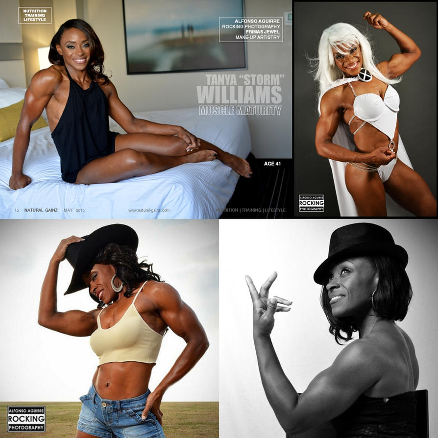 Daily Fitspiration Tanya Williams by zenx007