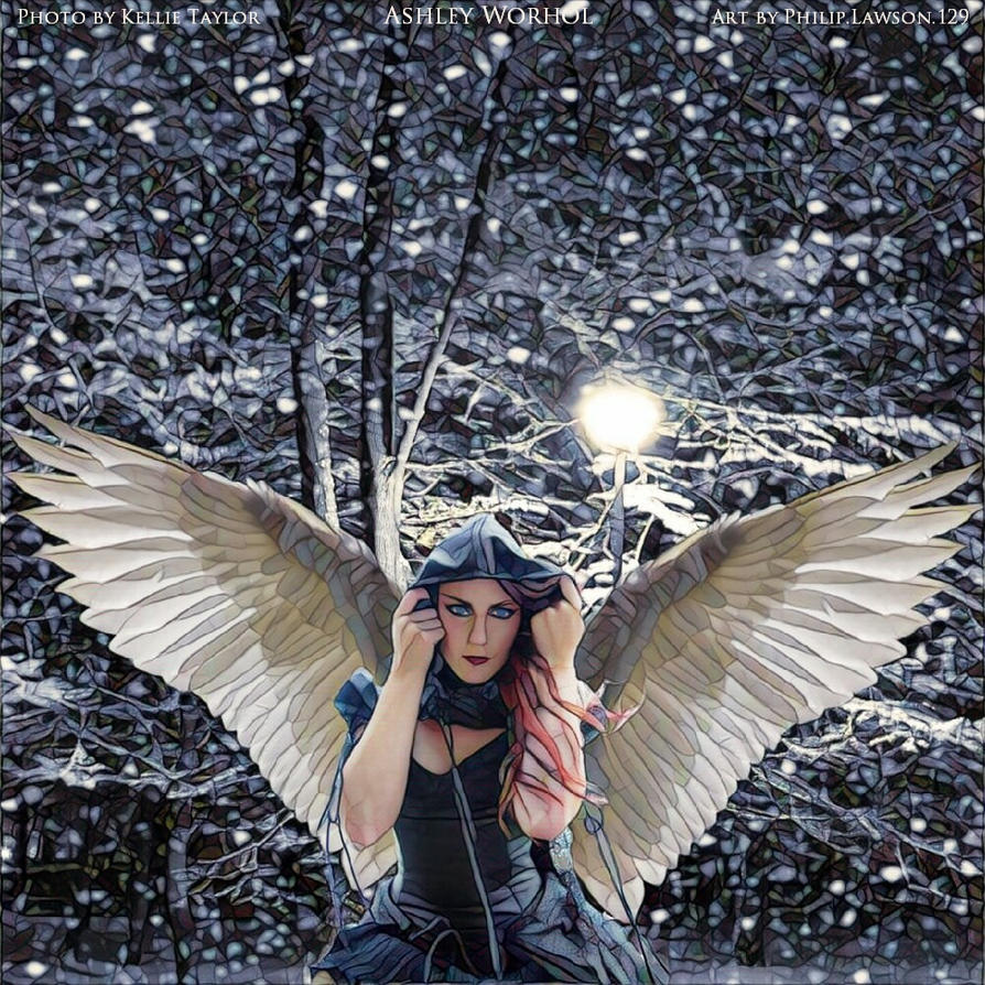 Snow Angel Ashley Worhol by zenx007