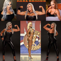Muscle Monday With Dana Brooke by zenx007