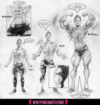 STRONG MEDICINE Sample 2 - MightyFemaleMuscleComix