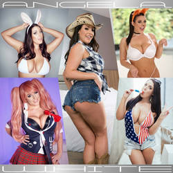 DRESS-UP DREAMGIRL Angela White-Quinto by zenx007