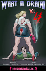 WHAT A DRAIN Vol. 4 From MightyFemaleMuscleComix by zenx007