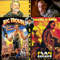 The AMAZING ALIASES Of Kurt Russell by zenx007