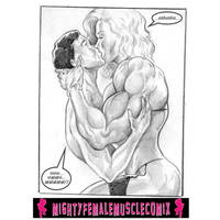 MUSCLE LUST II Sample 3 By MightyFemaleMuscleComix
