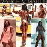 MARVELICIOUSLY MUSCLED Margie V. Martin