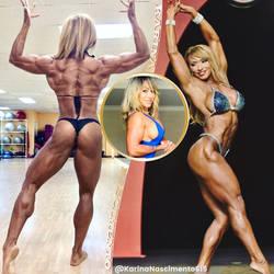 GORGEOUS GOLDEN GLAMAZON Karina Nascimento