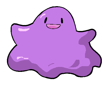 Ditto in MS Paint by ACLuigiYoshi