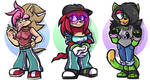 Adoptables - Sonic Girls (CLOSED) by ACLuigiYoshi