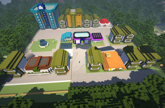 [PokeCraft] Kanto: Celadon City