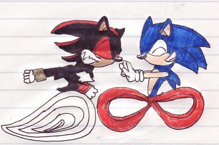 Sonic vs shadow by redwingsdragon on deviantart - Jeux de sonic vs shadow ...