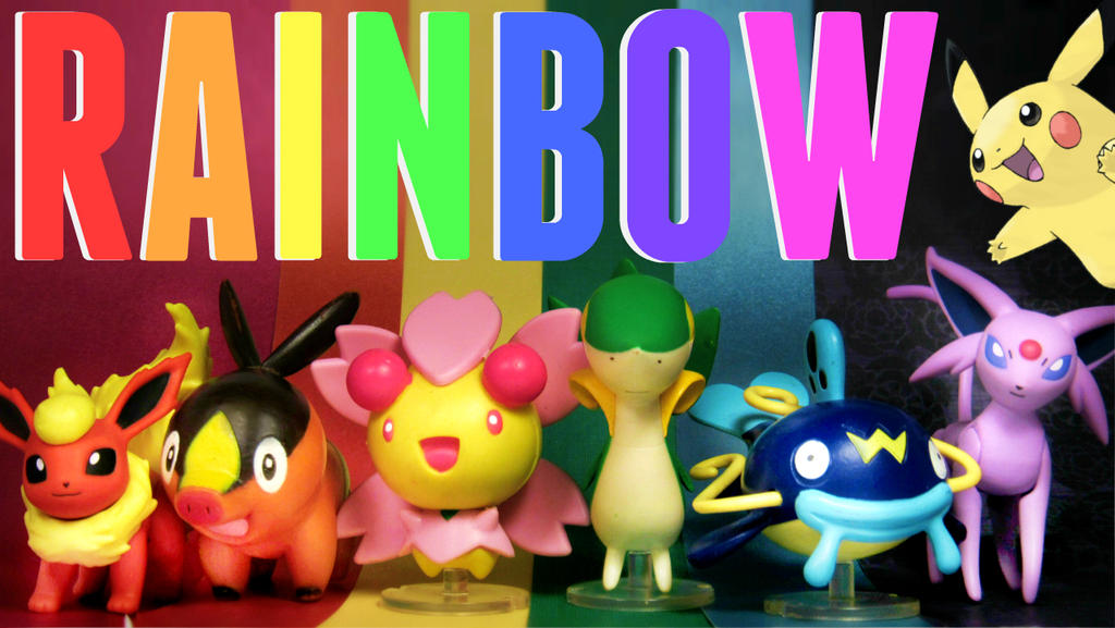 POKEMON Colors Of The RAINBOW TAG! by MidnightRarity