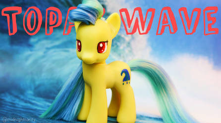 Topaz Wave- My Little Pony Custom Brushable! OOAK