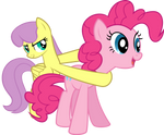 Parasol and Pinkie