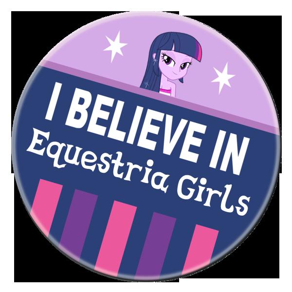 i believe in Equestria girls (Updated) by RainbowDashuk