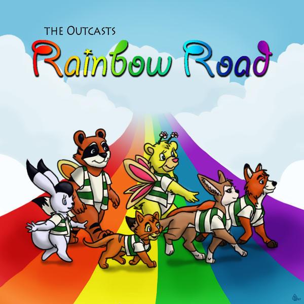 Rainbow Road By Hectorny On Deviantart