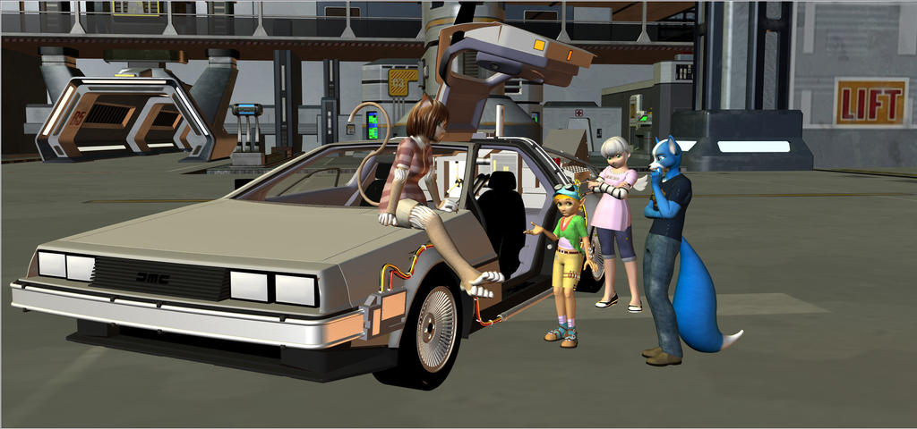 Back In The Future by HectorNY
