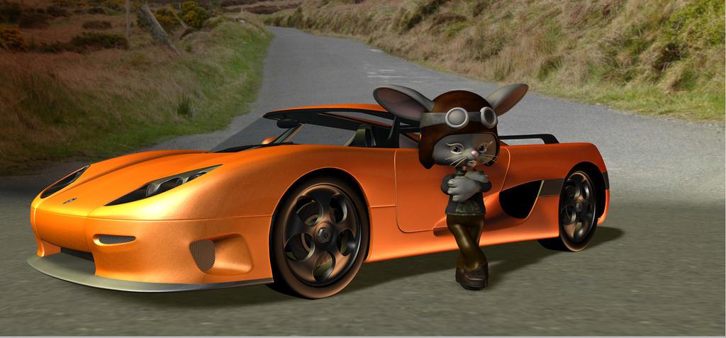 Racer Rabbit by HectorNY