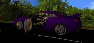 Test Drive in Purple