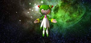 Cosmo Among the Cosmos by HectorNY