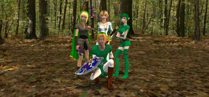Link and the Ladies by HectorNY