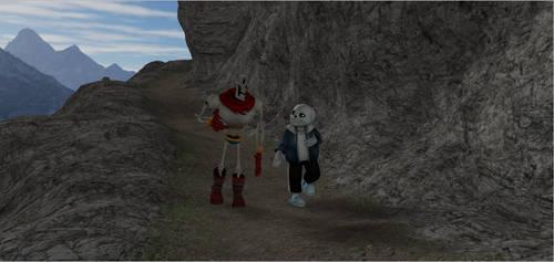 Undertale's Skeleton Crew