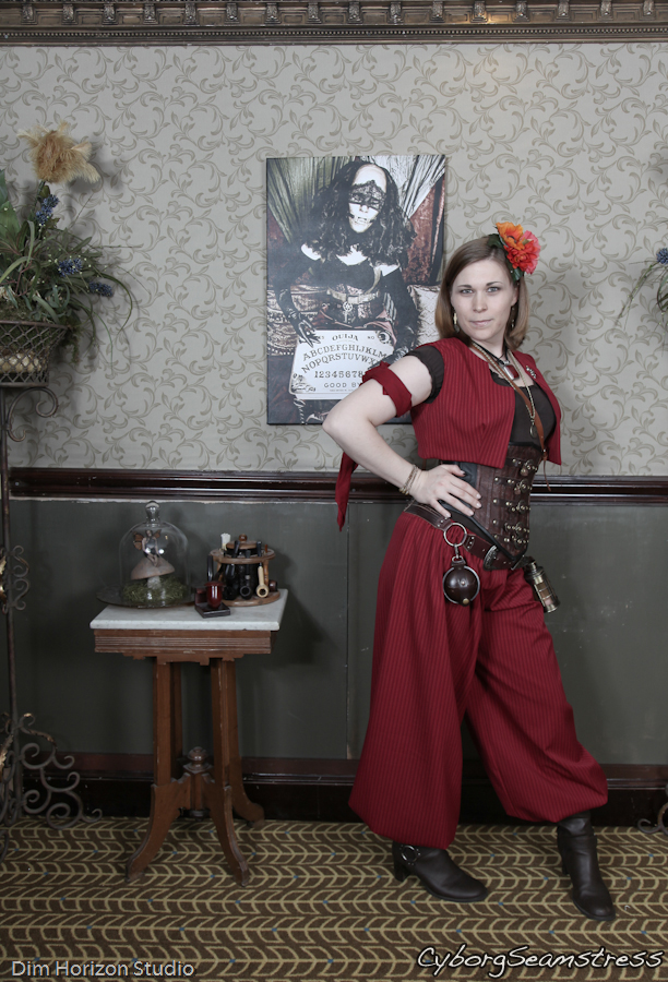 Steampunk Harem Outfit by cyborgseamstress