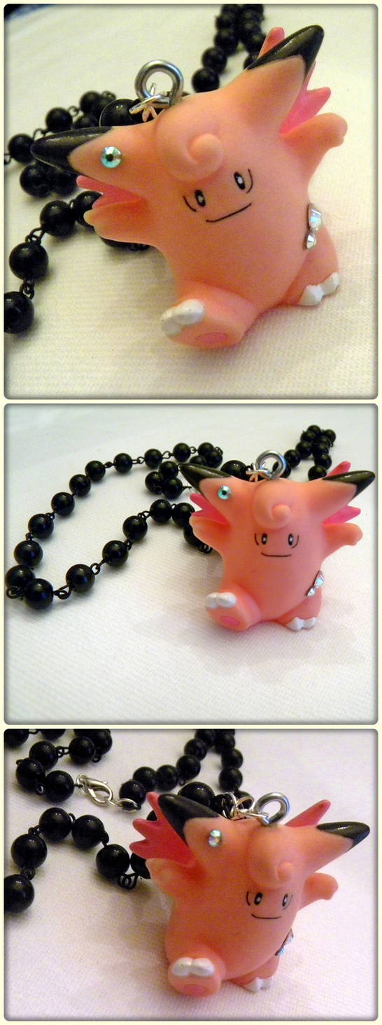 Pokemon: Clefable Necklace