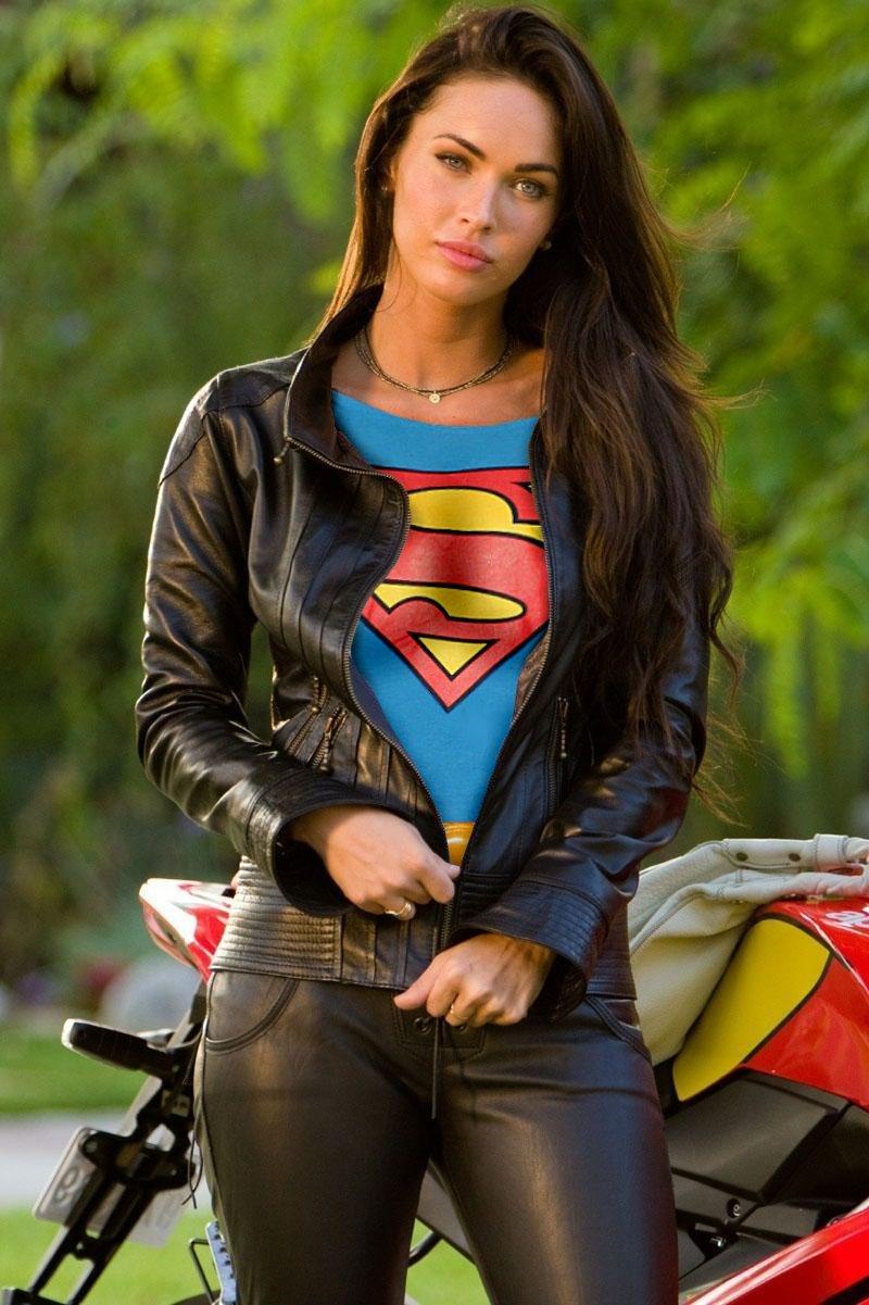 Group Of Megan Fox As Super