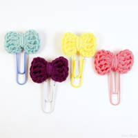 Bookmark little bow by SuniMam