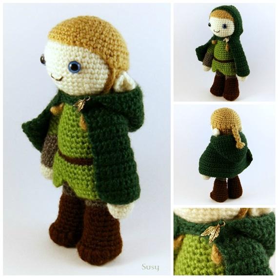 Elf Amigurumi Crochet ⋆ Crochet Kingdom | 570x570