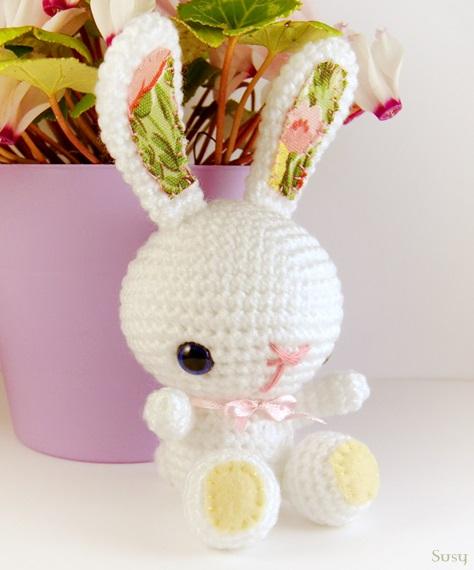 Amigurumi Spring Bunny : Amigurumi Easter bunny by SuniMam on DeviantArt