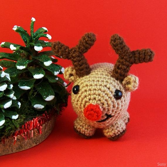 Happy Reindeer :) by SuniMam