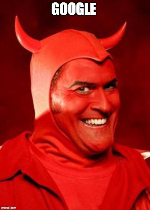 Google Devil by Jonathan432