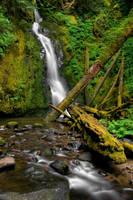 Hemlock Falls by 11thDimensionPhoto