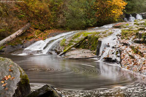 Alsea Falls-Autumn by 11thDimensionPhoto