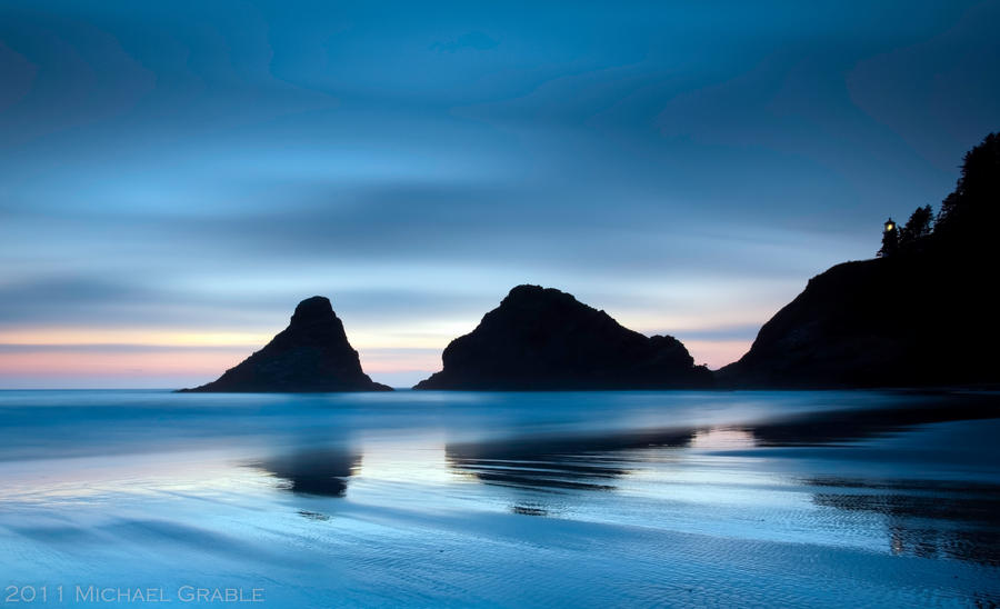 Heceta Head by 11thDimensionPhoto
