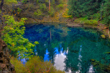 Blue Pool by 11thDimensionPhoto