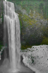 Salt Creek Falls-Winter