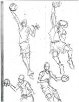 more b.ball action poses by airwatts