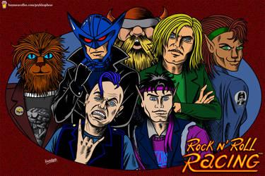 Rock N' Roll Racing!