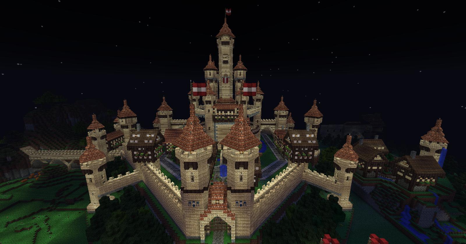 Minecraft Sandstone Castle By Undeadwarrior7411 On Deviantart