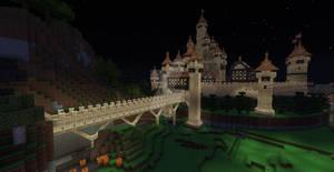 Minecraft Sandstone Castle