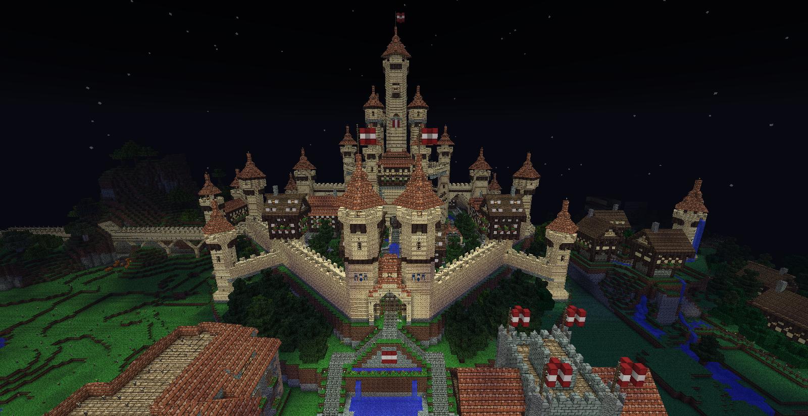 Minecraft Castle by UNDEADWARRIOR7411