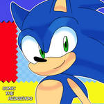 Sonic The Hedgehog Headshot
