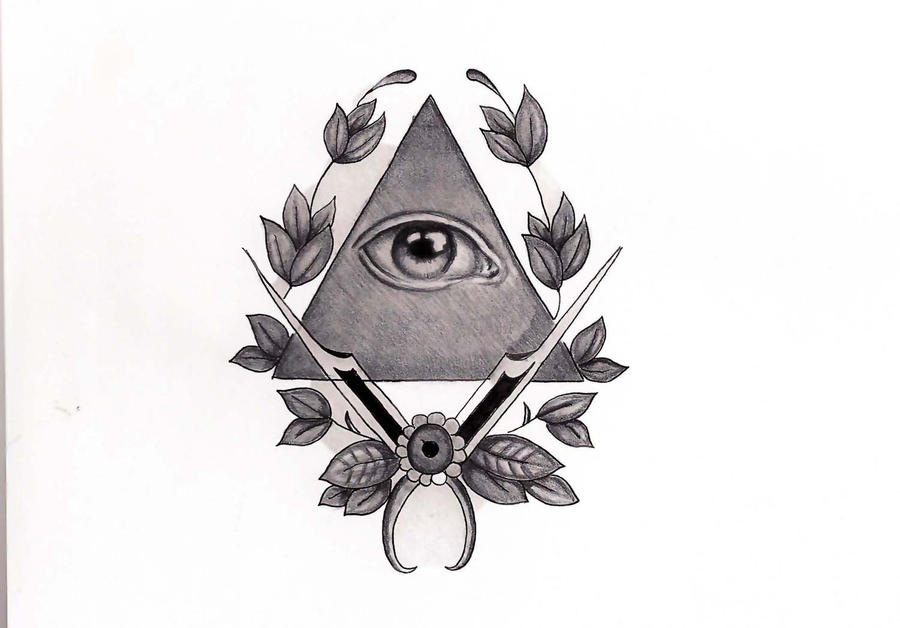 the gallery for illuminati drawings for tattoos. Black Bedroom Furniture Sets. Home Design Ideas
